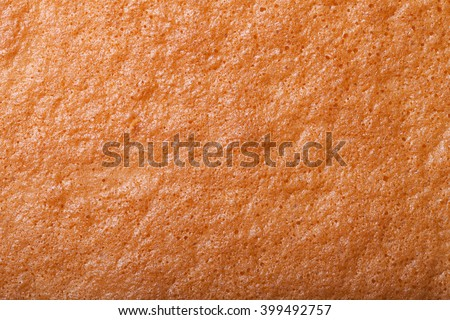 The surface of fresh biscuit for background. Stock photo ©