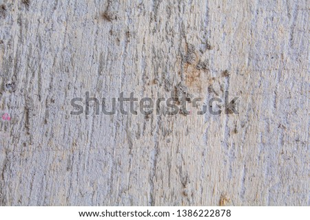 The surface of the concrete surface that resembles the surface of the bark