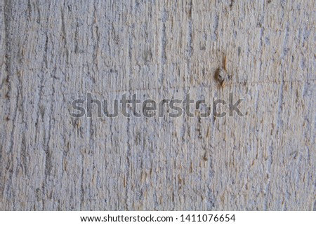 The surface of the concrete wall with a form of wood #1411076654