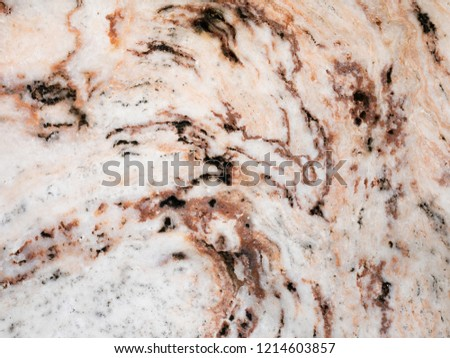 The surface of the red marble stone texture background. More then a million years old. #1214603857