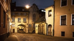 The Swedish Gate in Riga, Latvia