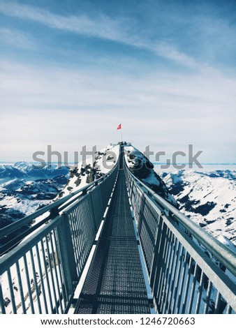 the Swiss peak