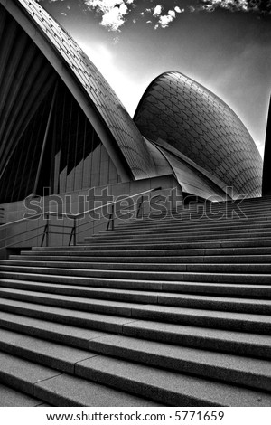The Sydney Opera House is one of the most distinctive and famous 20th century buildings, and one of the most famous performing arts venues in the world