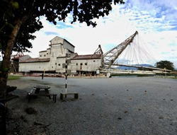 The Tanjung Tualang Tin Dredge No. 5 or TT5 is a former tin mining dredge in Batu Gajah, Kinta District, Perak, Malaysia.