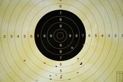 the target set as the destination