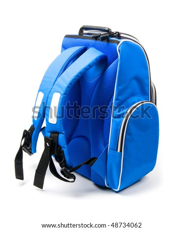 The Teenagers backpack (isolated on white)