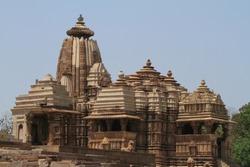 The Temple City of Khajuraho in India