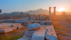 The Temple of Artemis, Sardes (Sardis) Ancient City - Manisa, Turkey