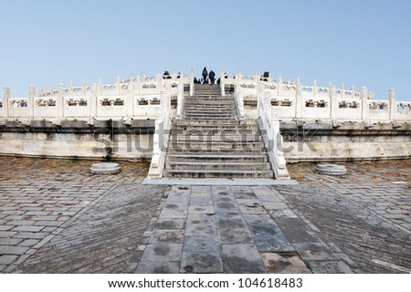 The Temple of Heaven complex in Beijing, China.