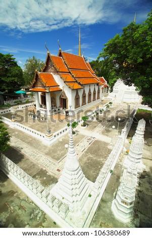 The Temple(Wat Chumphon) , Bangpa-in ,  Ayutthaya , Thailand
