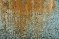 The texture of a stone wall, flooring, concrete destruction, metal corrosion and rusty antiquity, the basis of construction reinforcement and ceilings, paint chips