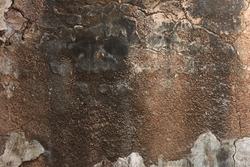 The texture of an antique wall. Old castle stone wall texture background. the old wall as a background or texture.