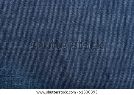The texture of blue jeans.