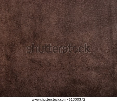 The texture of brown suede.