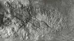 The texture of molten aluminum, abstraction.