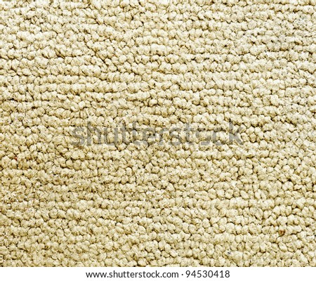 The texture of old dirty doormat with small pebble. - stock photo