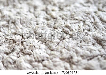 The texture of papier mâché close-up. Concrete background Foto d'archivio ©
