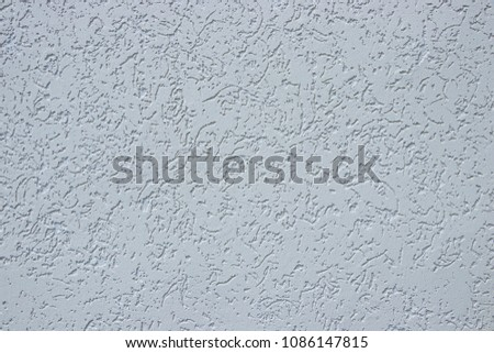 The texture of the plaster is