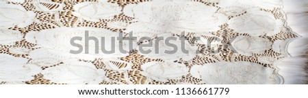the texture of the skin with embossed floral pattern. abstract vintage leather floral pattern. Leather floral pattern background.  #1136661779