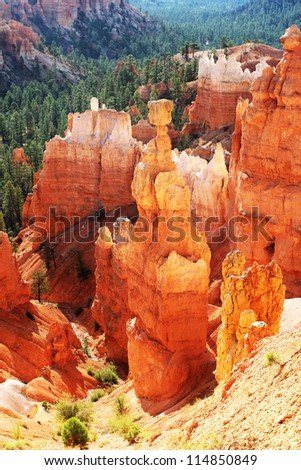 The Thor's Hammer - Bryce Canyon National Park