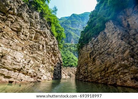 The Three Gorges Yangtze River China #693918997