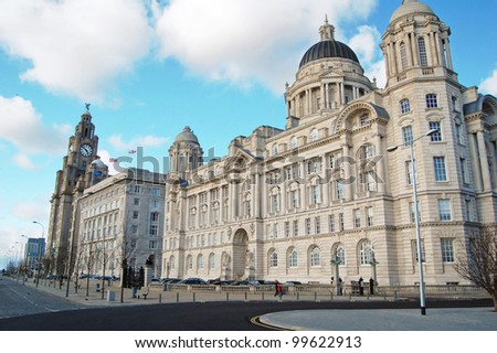 The Three Graces on Liverpool's waterfront