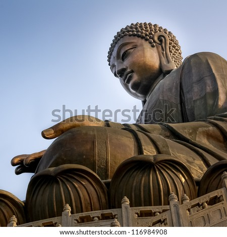 The Tian Tan Big Buddha in Hong Kong