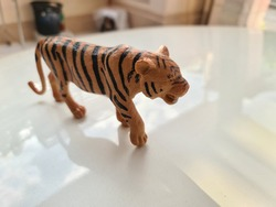 The tiger toys for children.
