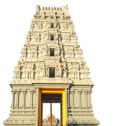 The Tirupati Temple, The Balaji Temple, Maharashtra-India