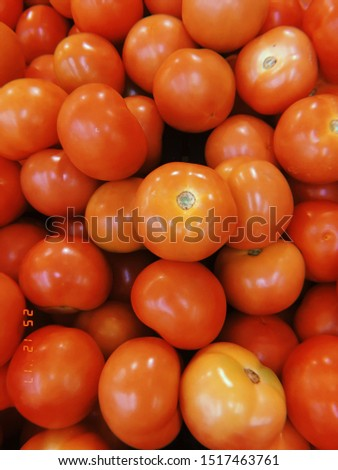 The tomato is the edible, often red, berry of the plant Solanum lycopersicum, commonly known as a tomato plant. The species originated in western South America and Central America.