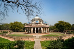 The tomb of Isa Khan Niazi is located south of the Bu Halima's garden in the Humayun's Tomb complex, India. It was built in 1547–1548 during the reign of Sher Shah Suri.
