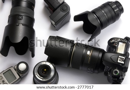 The tools of the trade for a professional photographer. #2777017