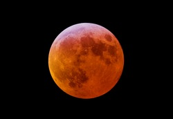The total lunar eclipse 2007