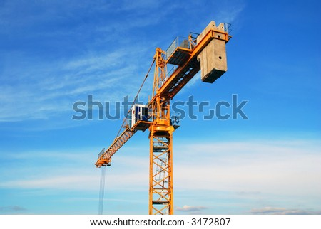 the tower crane