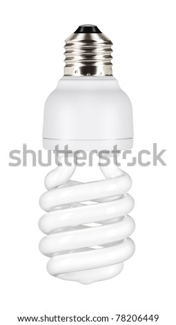 The traditional carbon fiber bulbs used many energy, by contrast, very little the new energy saving light bulbs.