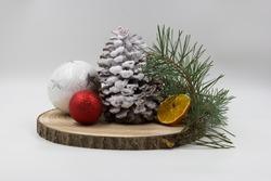 The traditional, festive Christmas headdress