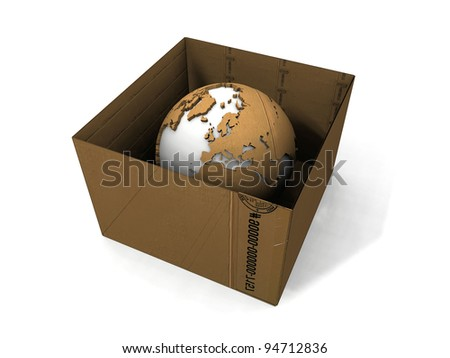 the  transport carton and the earth