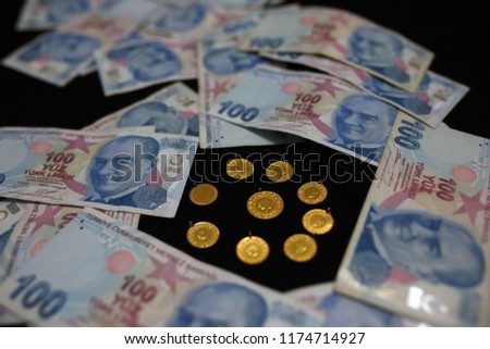 The Turkish lira is the currency of Turkey and the self-declared Turkish Republic of Northern Cyprus.  #1174714927