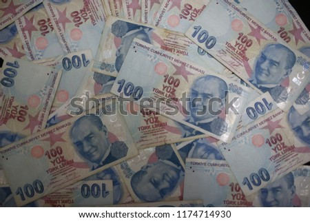 The Turkish lira is the currency of Turkey and the self-declared Turkish Republic of Northern Cyprus.  #1174714930