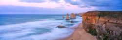 The twelve Apostles along the famous Great Ocean Road in Victoria, Australia