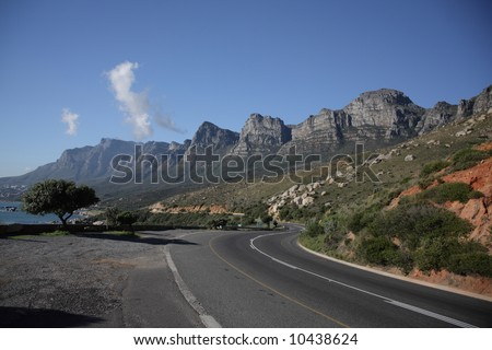 The twelve apostles - back of table top mountain - Capetown, South Africa