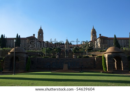 The Union Buildings in Pretoria, capital of South Africa.
