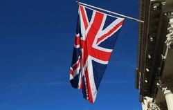 The Union Jack flag of the United Kingdom