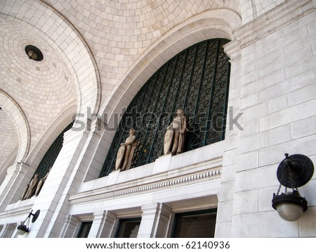 The Union Station in Washington DC, USA