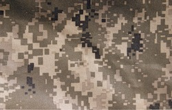 The Universal Camouflage Pattern, also referred to as Army Combat Uniform Pattern) or Digital military camouflage. Background.