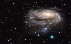 The universe is all of the galaxies and milky way ( Heic0602a Pinwheel galaxy, Milky Way galaxy has been amended as)