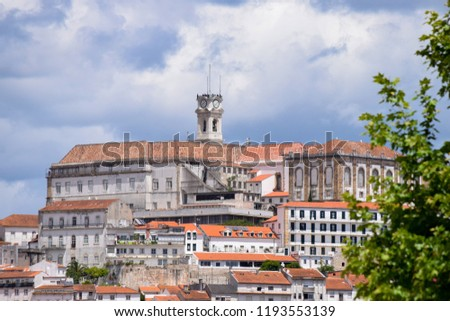 The University of Coimbra is a university in Coimbra, Portugal. It is one of the oldest universities in the world.