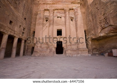 The Urn Tomb Petra Jordan