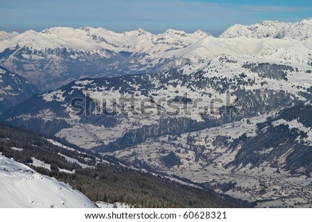 the Valley of Davos and Klosters, Switzerland