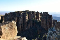 The Valley of Desolation near the Karoo town of Graaff-Reinet in the Eastern Cape